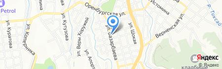 Ералаш на карте Алматы
