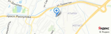LanPass на карте Алматы