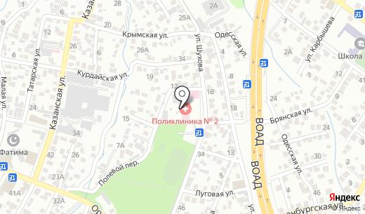 Городская поликлиника №2. Схема проезда в Алматы