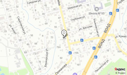 Автосервис. Схема проезда в Алматы