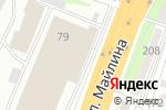 Схема проезда до компании Сбербанк, ДБ АО в Алматы