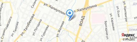 Классная русская банька на карте Алматы