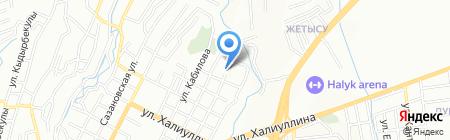 Пожарная часть №1 Медеуского района на карте Алматы