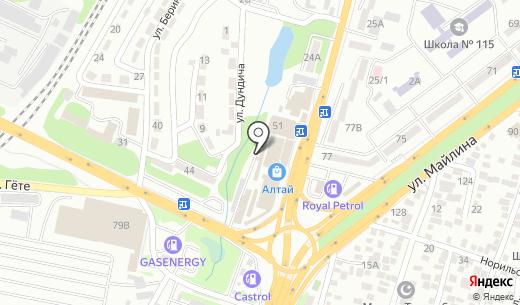 Салем. Схема проезда в Алматы