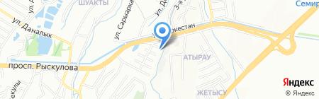 Геостан на карте Алматы