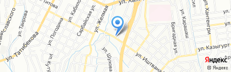 Panorama на карте Алматы