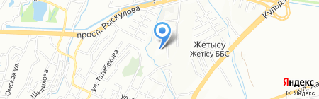 Alugal на карте Алматы