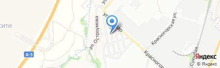 Место встречи на карте Алматы