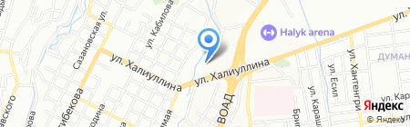 Yasumi на карте Алматы