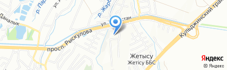 Basu Technologies на карте Алматы