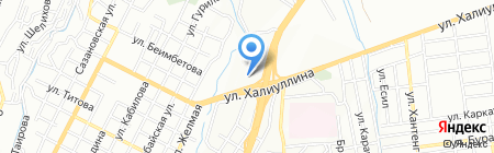 MEGA MOTORS на карте Алматы
