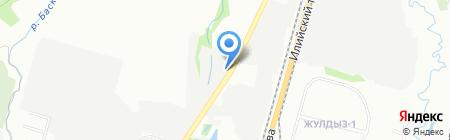 Сервис-Окна на карте Алматы