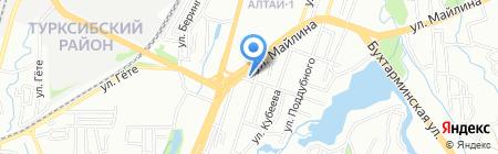 Алтын адам на карте Алматы