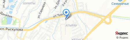 СИН ХЭ ЮК на карте Алматы