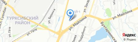 Специальный (коррекционный) ясли-сад №123 для детей с нарушениями опорно-двигательного аппарата и зрения на карте Алматы
