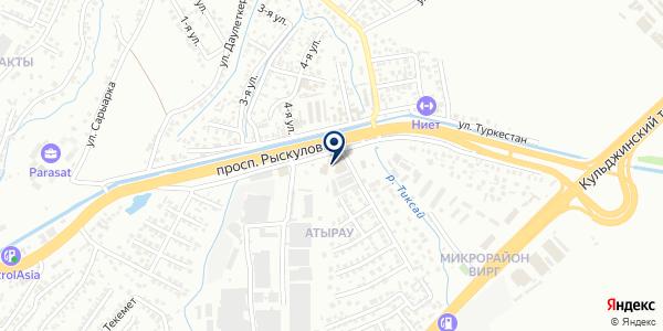 BZT AUTO INNOVATION EURASIA LLP на карте Алматы
