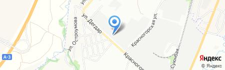 РСУ-4 на карте Алматы