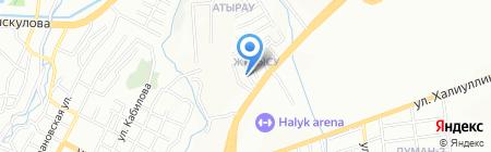 Балбобек на карте Алматы