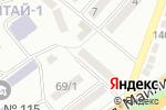 Схема проезда до компании Ателье в Алматы
