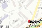 Схема проезда до компании Камея-А в Алматы