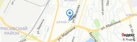 Моя семья на карте Алматы