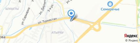 Отан су на карте Алматы