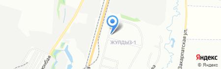 Городская поликлиника №20 на карте Алматы