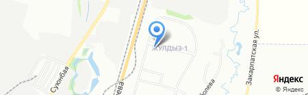 Shagala на карте Алматы