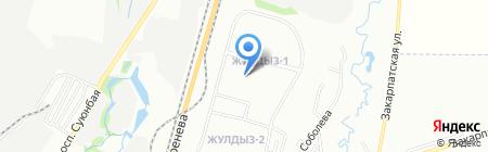 Центр Интенсивного Обучения Государственному языку на карте Алматы