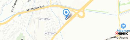 Интегра Сервис Азия на карте Алматы