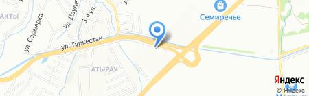 Sevinch на карте Алматы
