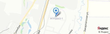 Шер продуктовый магазин на карте Алматы