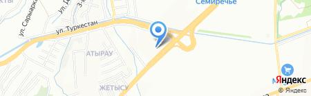 Азимут Энерджи Сервисез на карте Алматы