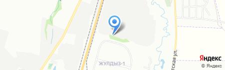 Турмыс на карте Алматы