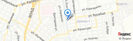Меруерт продуктовый магазин на карте Алматы
