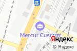 Схема проезда до компании Дани-нан в Алматы