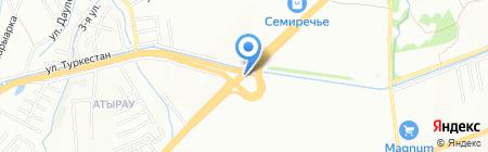 5353.kz на карте Алматы