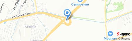 Копейка на карте Алматы