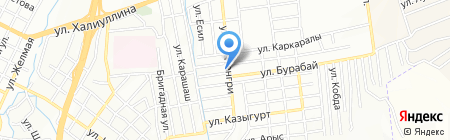 Газиз на карте Алматы