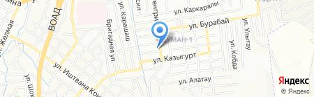 Мастерская по ремонту сотовых телефонов на ул. Хантенгри на карте Алматы