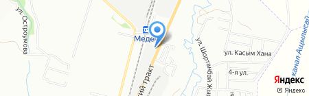 SUNPAPER на карте Алматы