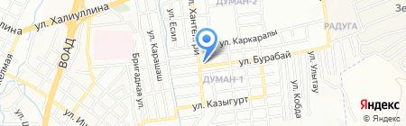У Мадианы на карте Алматы