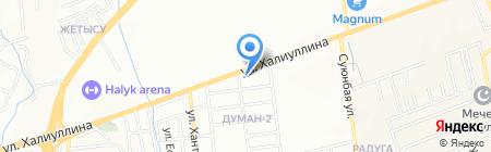 Айдимжан на карте Алматы