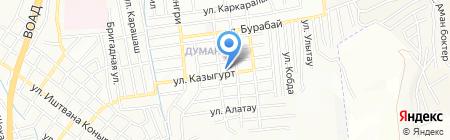 Участковый пункт полиции №84 на карте Алматы