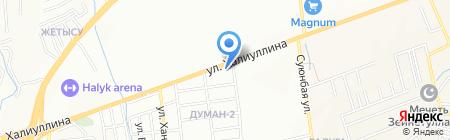 Bellucci на карте Алматы