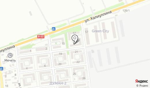 Мир детства. Схема проезда в Алматы
