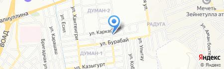 Участковый пункт полиции №75 Медеуского района на карте Алматы