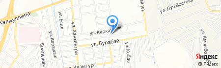 Точка ТОО на карте Алматы