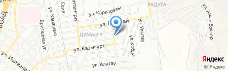 Салтанат продуктовый магазин на карте Алматы