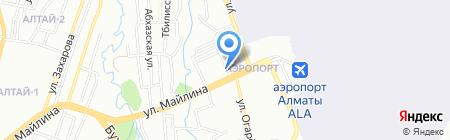 Altay Service на карте Алматы